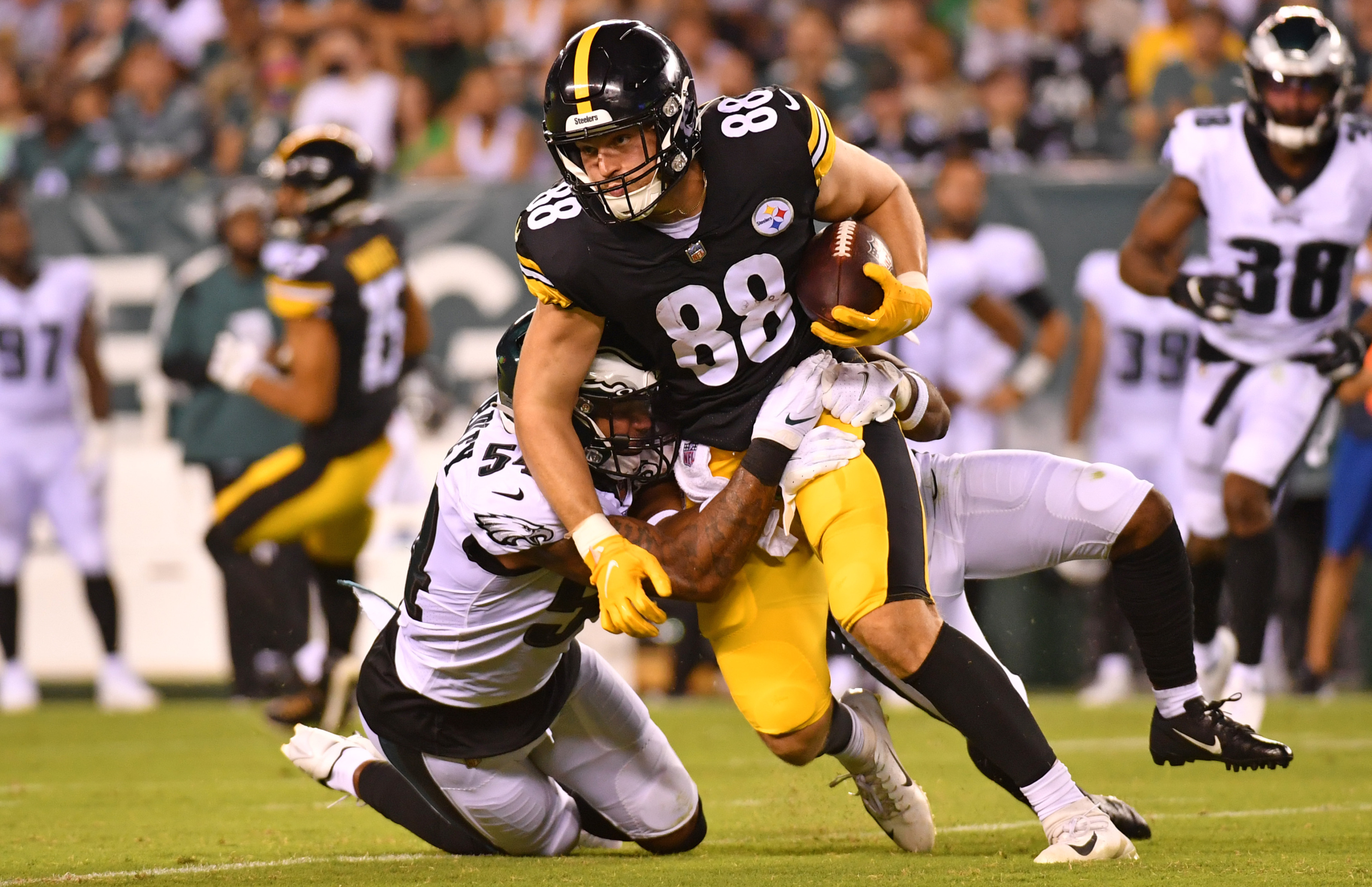 Former Steelers QB: 'Pat Freiermuth is key' for Pittsburgh in 2021